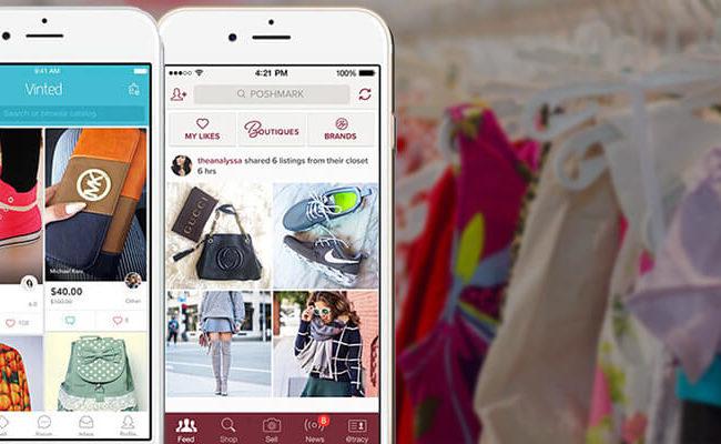 Aplicativos de uso compartilhado de roupas